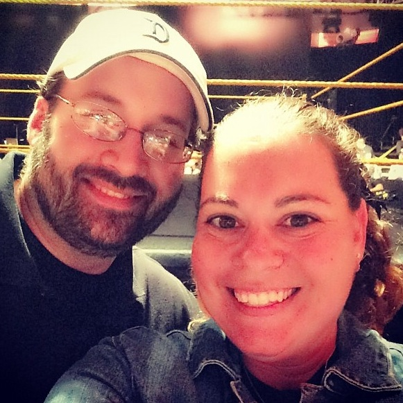 Connor's Cure WWE NXT Takeover Shelley and Dave