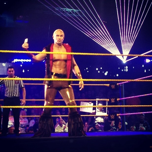 WWE NXT Takeover Tyler Breeze