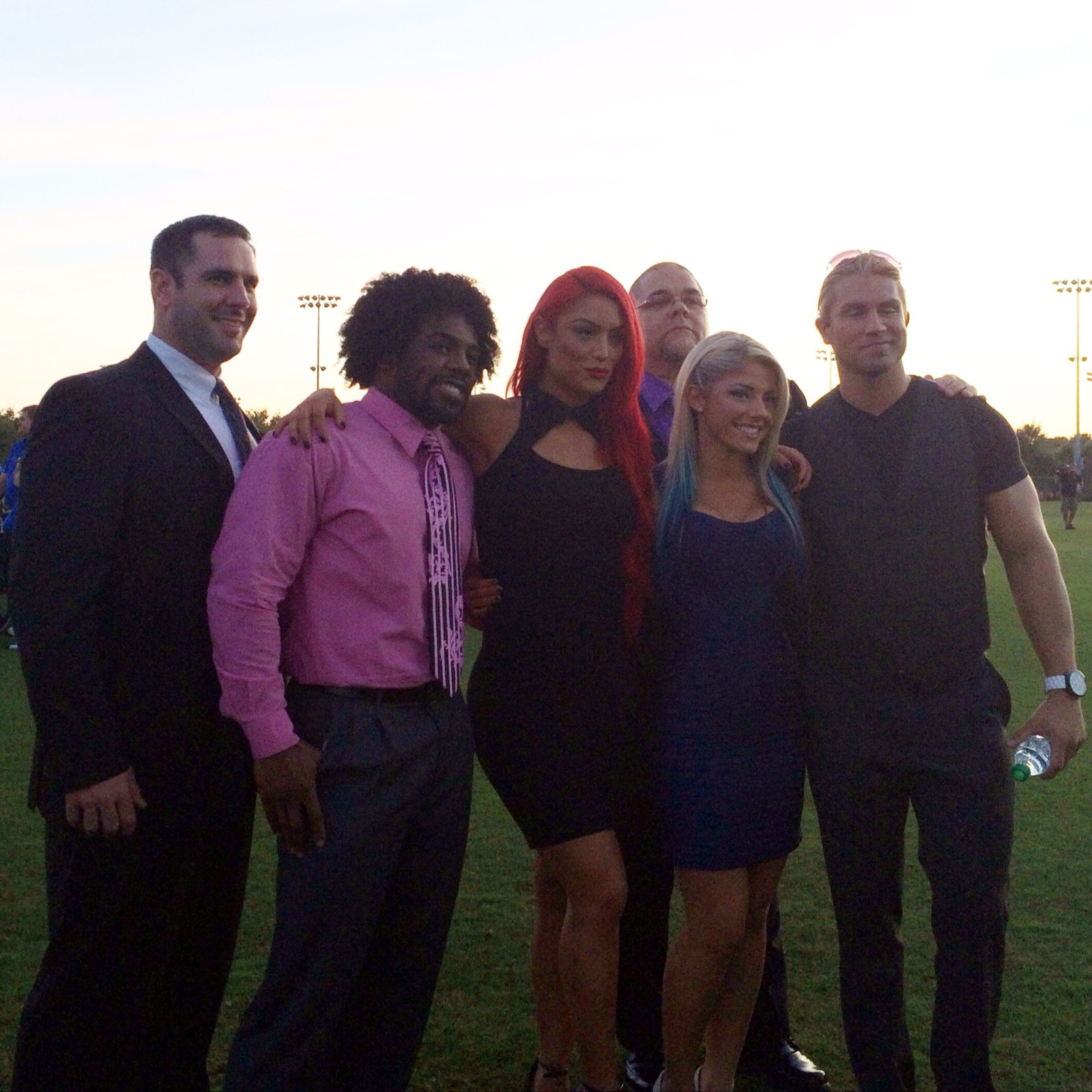 Special Olympics Florida WWE NXT Superstars and Divas