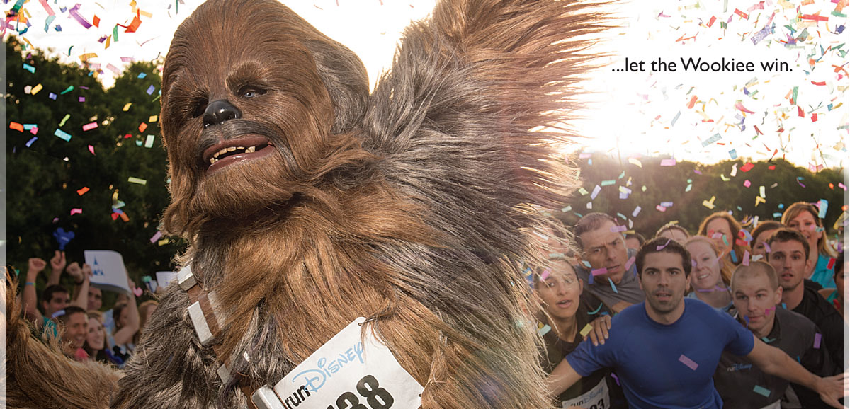 runDisney Let the Wookie Win Star Wars