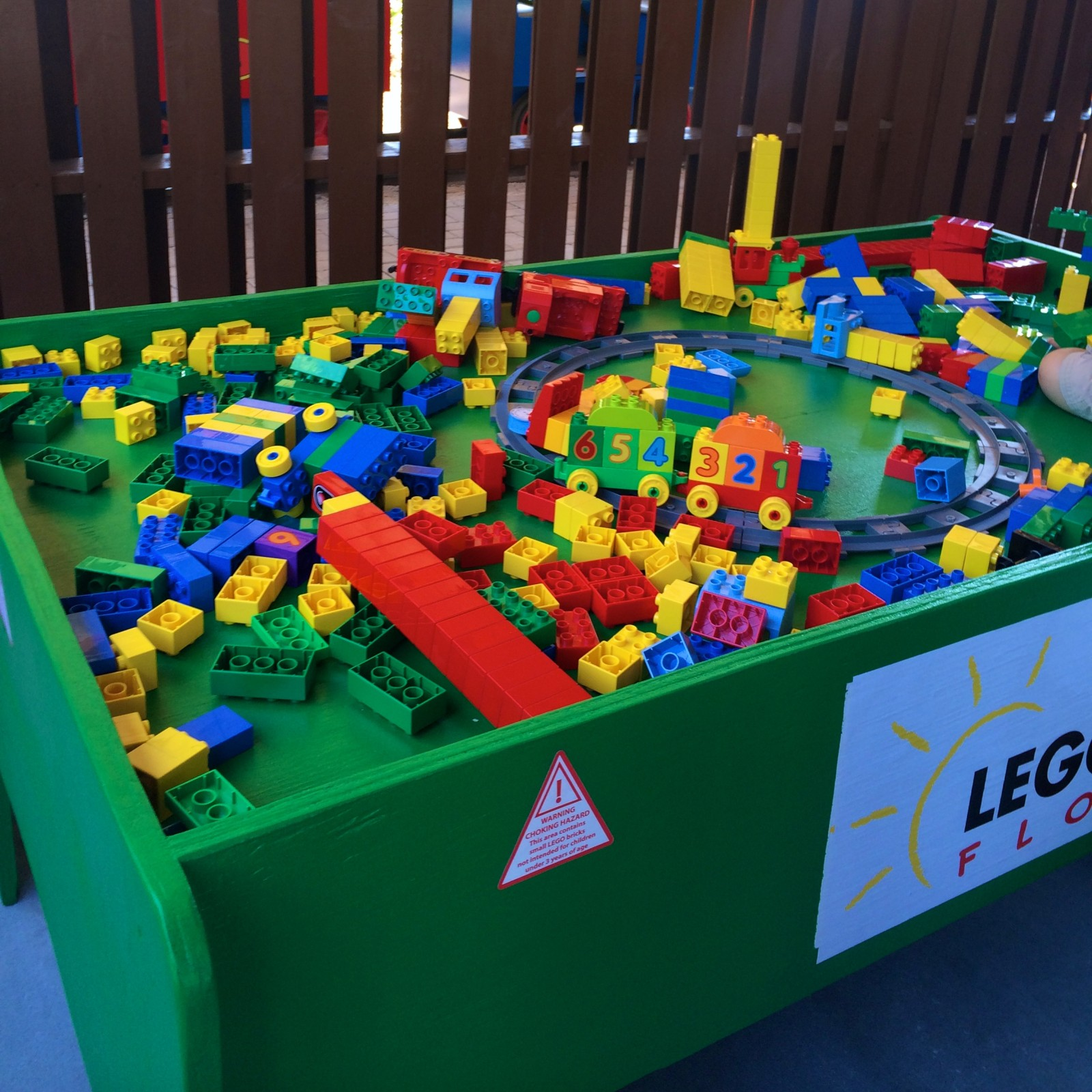 DUPLO Valley Themed Play Area DUPLO Train