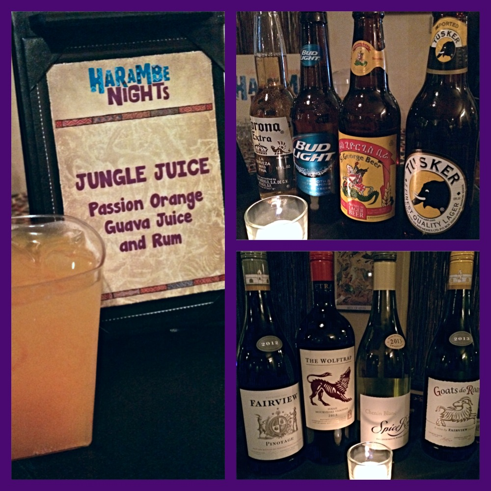 Harambe Nights Beverages