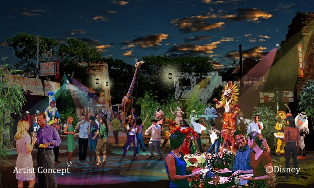 Harambe Nights Street Party Concept