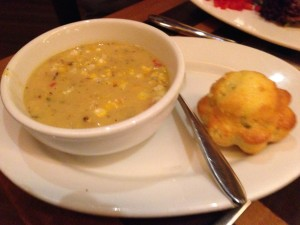 Season Soup - corn chowder