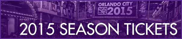 Orlando City SC 2015 MLS Tickets Header
