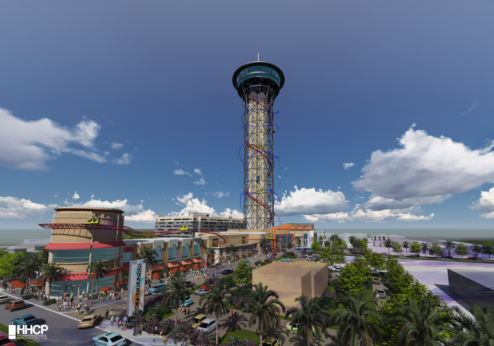 The Skyscraper at SKYPLEX