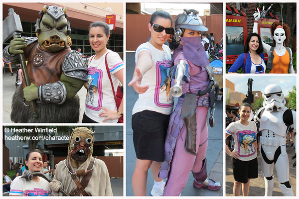 Star Wars Weekends Characters