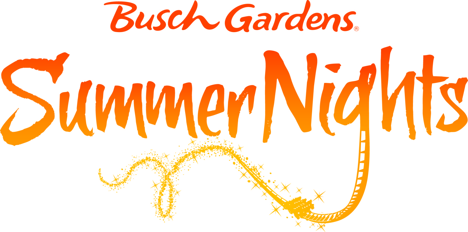 Summer Nights Busch Gardens Tampa Logo 2014