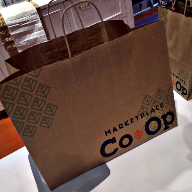 Marketplace Co Op Shopping Bag