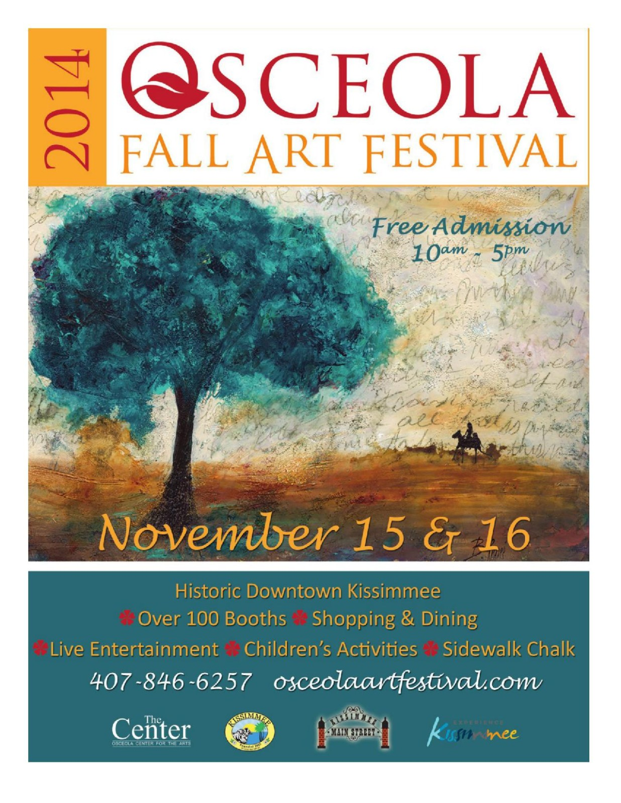 2014 Osceola Fall Art Festival