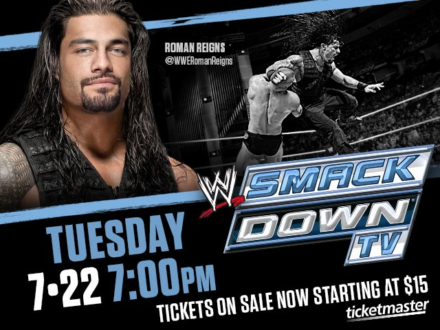 Amway Center WWE Smackdown July 22 2014