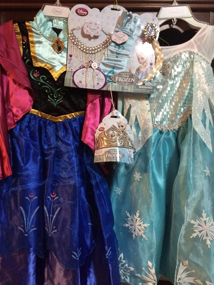 Frozen Costumes Giveaway