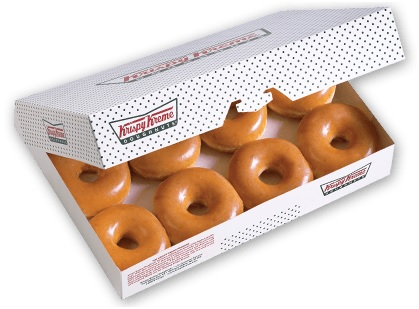 Krispy Kreme Original Glazed Dozen Krispy Kreme Stuff the Bus School Supply Drive Supplies
