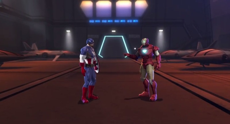 Marvel's Iron Man & Captain America Heroes United