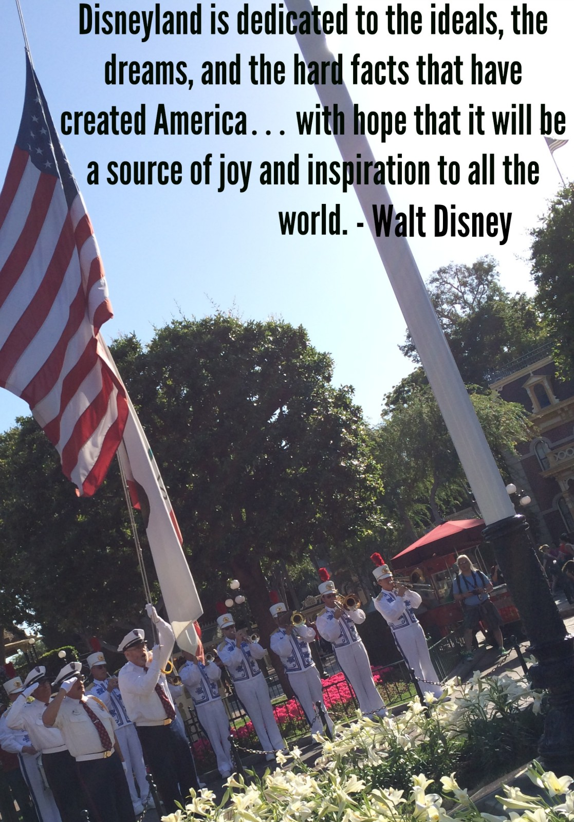 Wordless Wednesday July 2 2014 Disneyland Dedication