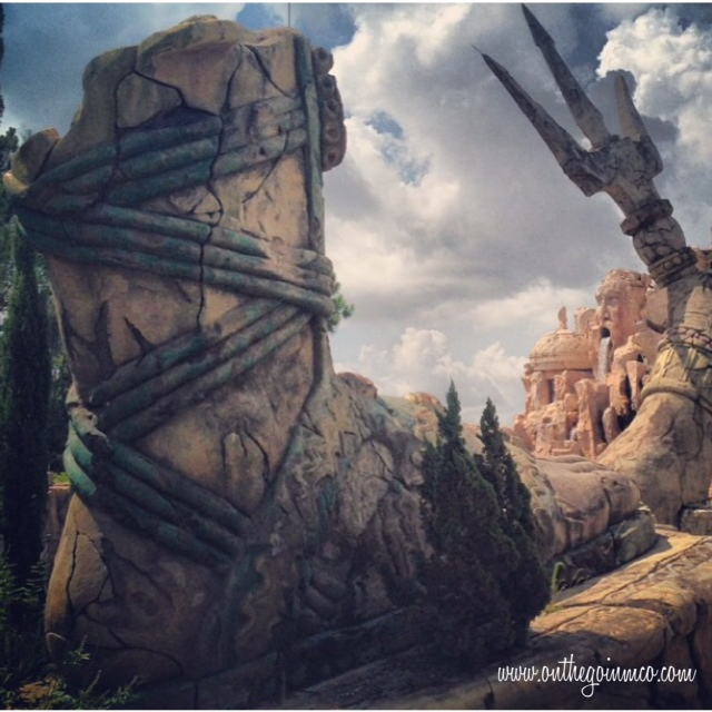Wordless Wednesday - Poseidon's Fury - Universal Orlando Resort Islands of Adventure