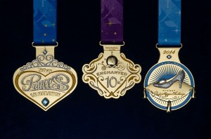 glass slipper challege medals