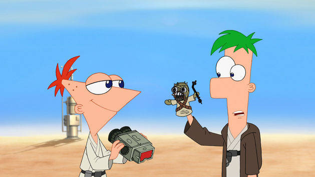 Colorea A Phineas Y Ferb Personajes De Disney Channel: Phineas And Ferb Star Wars Review