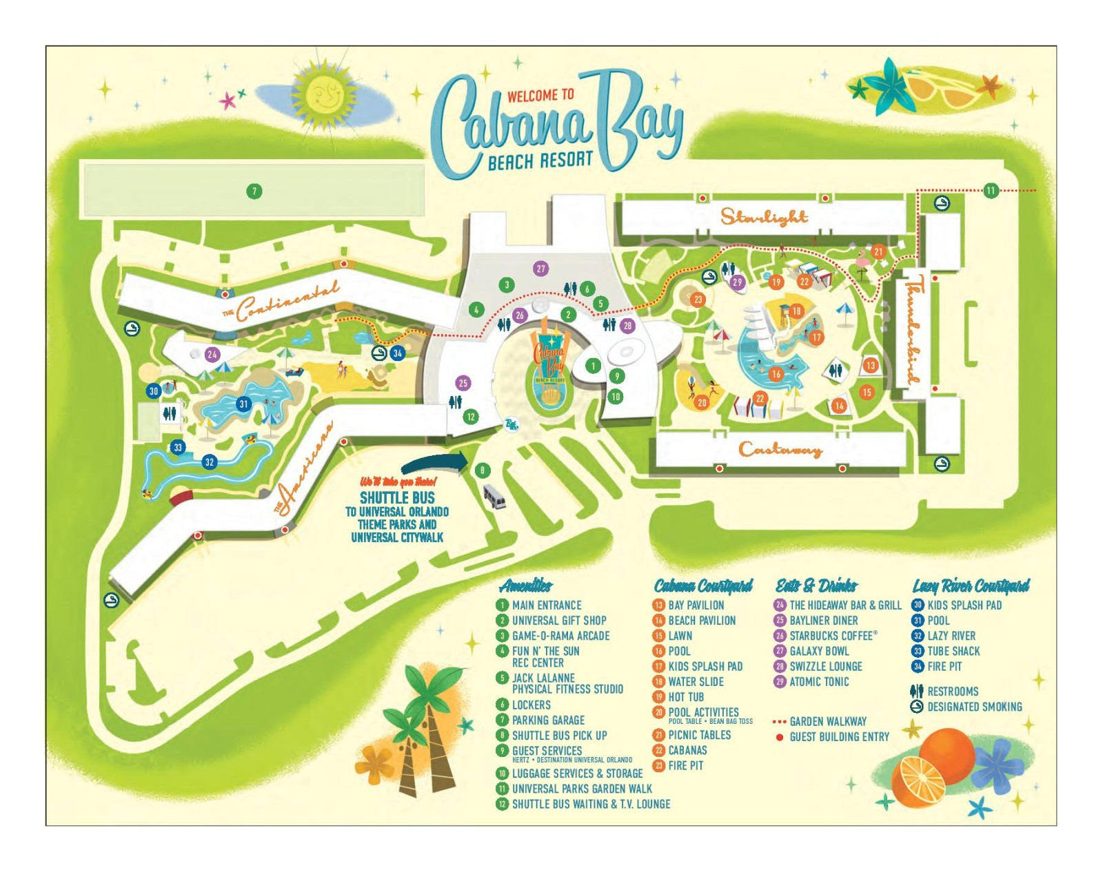 ... : The Perks Of Staying At Cabana Bay Beach Resort - On the Go in MCO