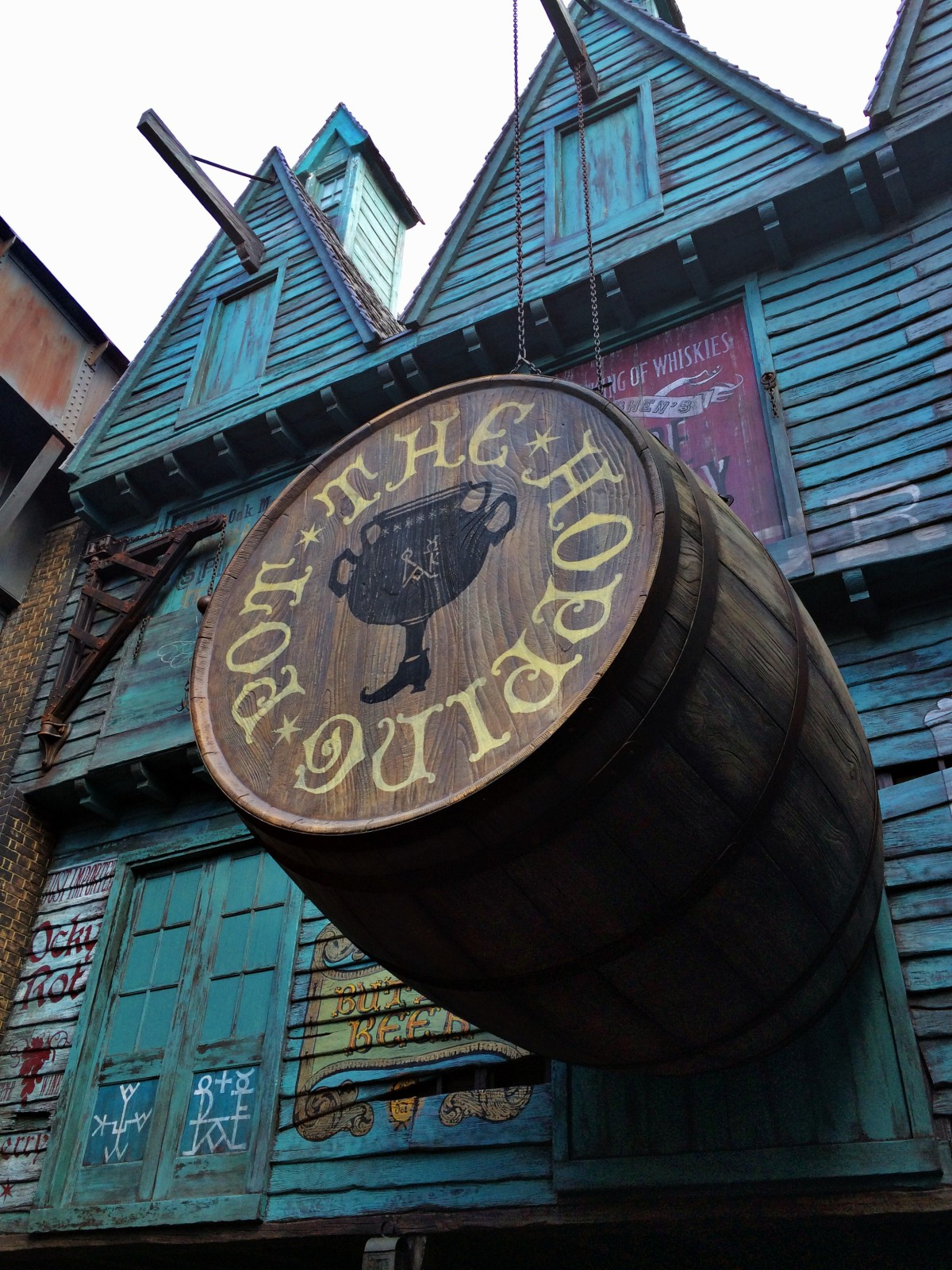 Diagon Alley Introduction -Hopping Pot