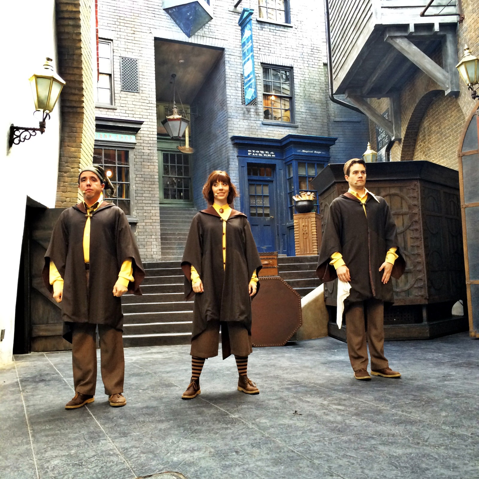 Diagon Alley The Tale of Three Brothers - Actors