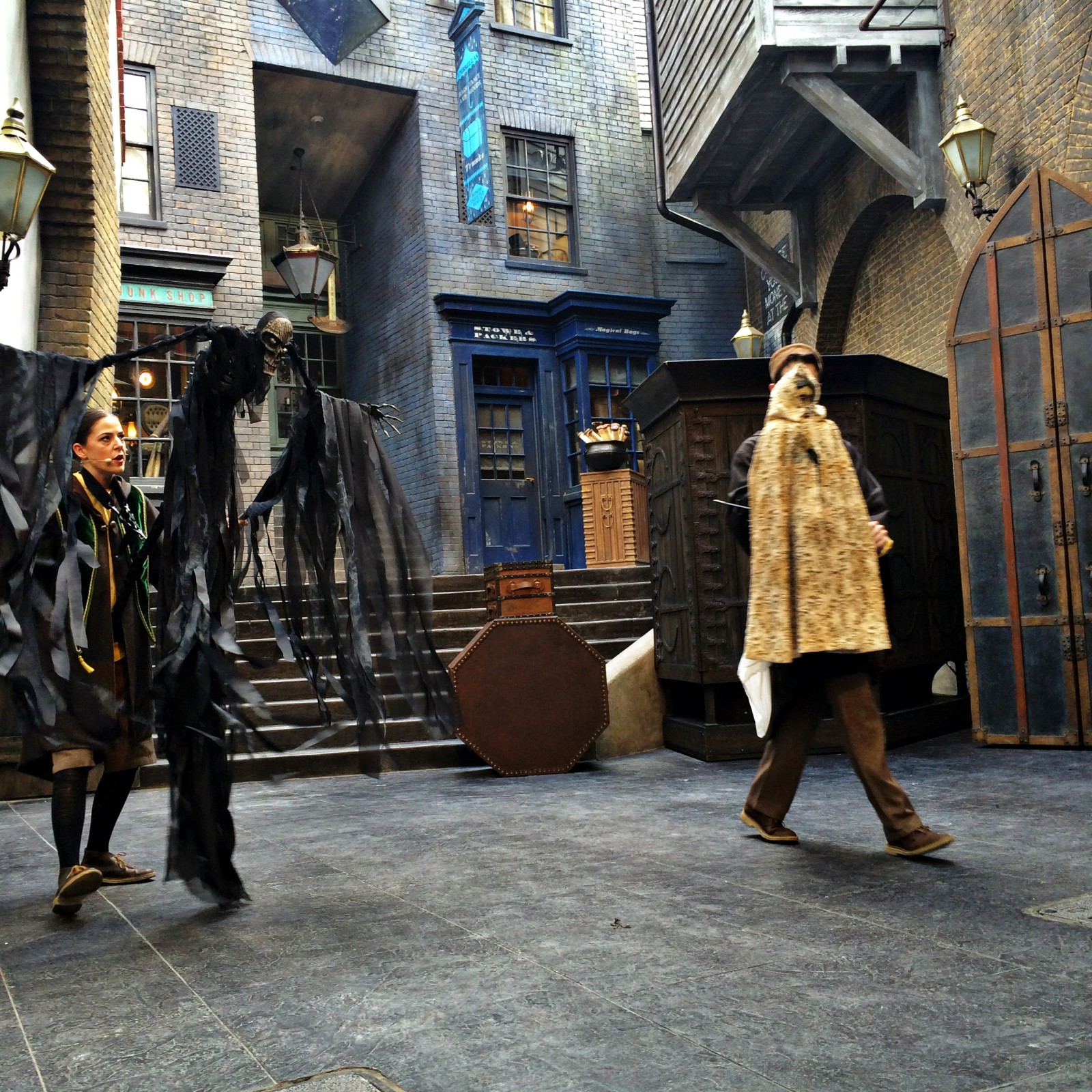 Diagon Alley The Tale of the Three Brothers