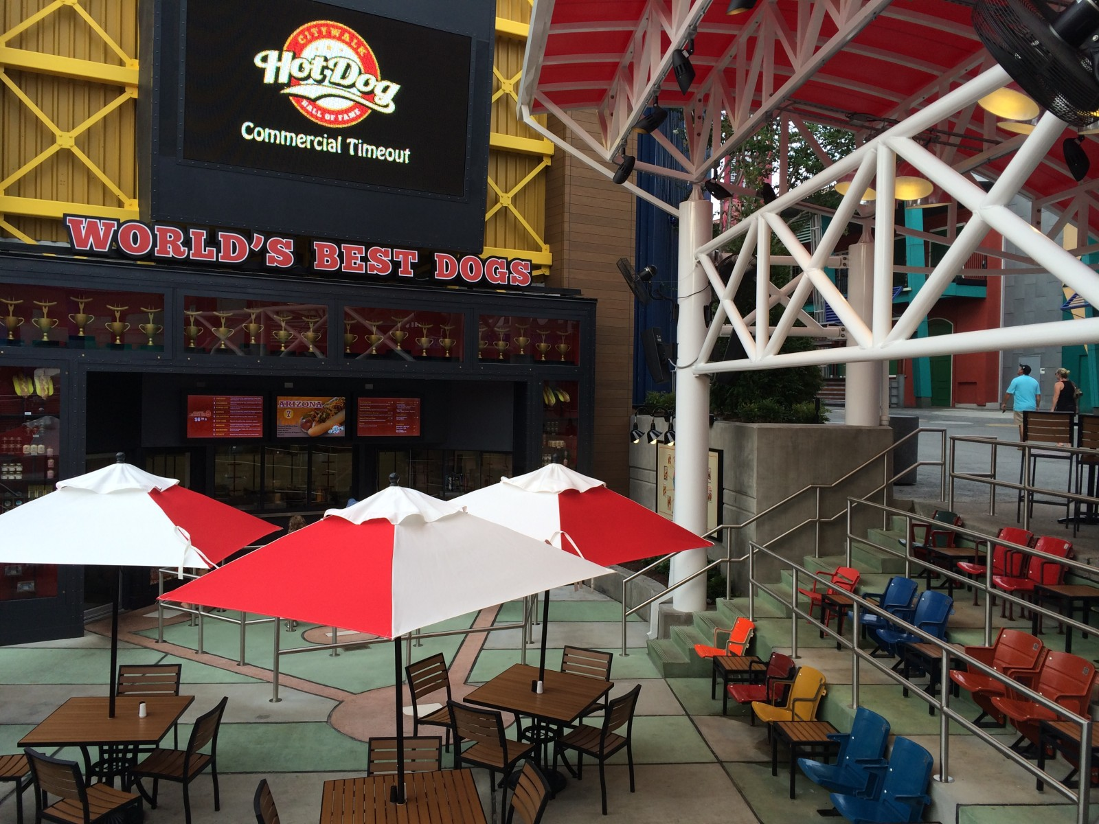 Hot Dog Hall Of Fame Universal Orlando