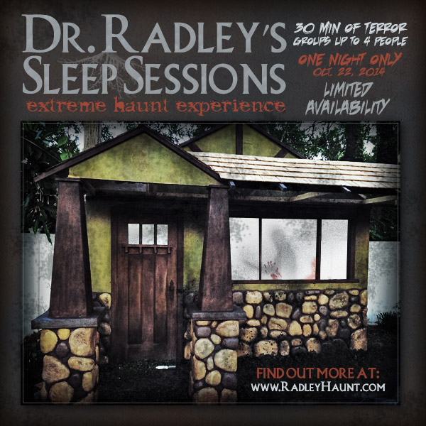 Radley Haunted House Sleep Experience