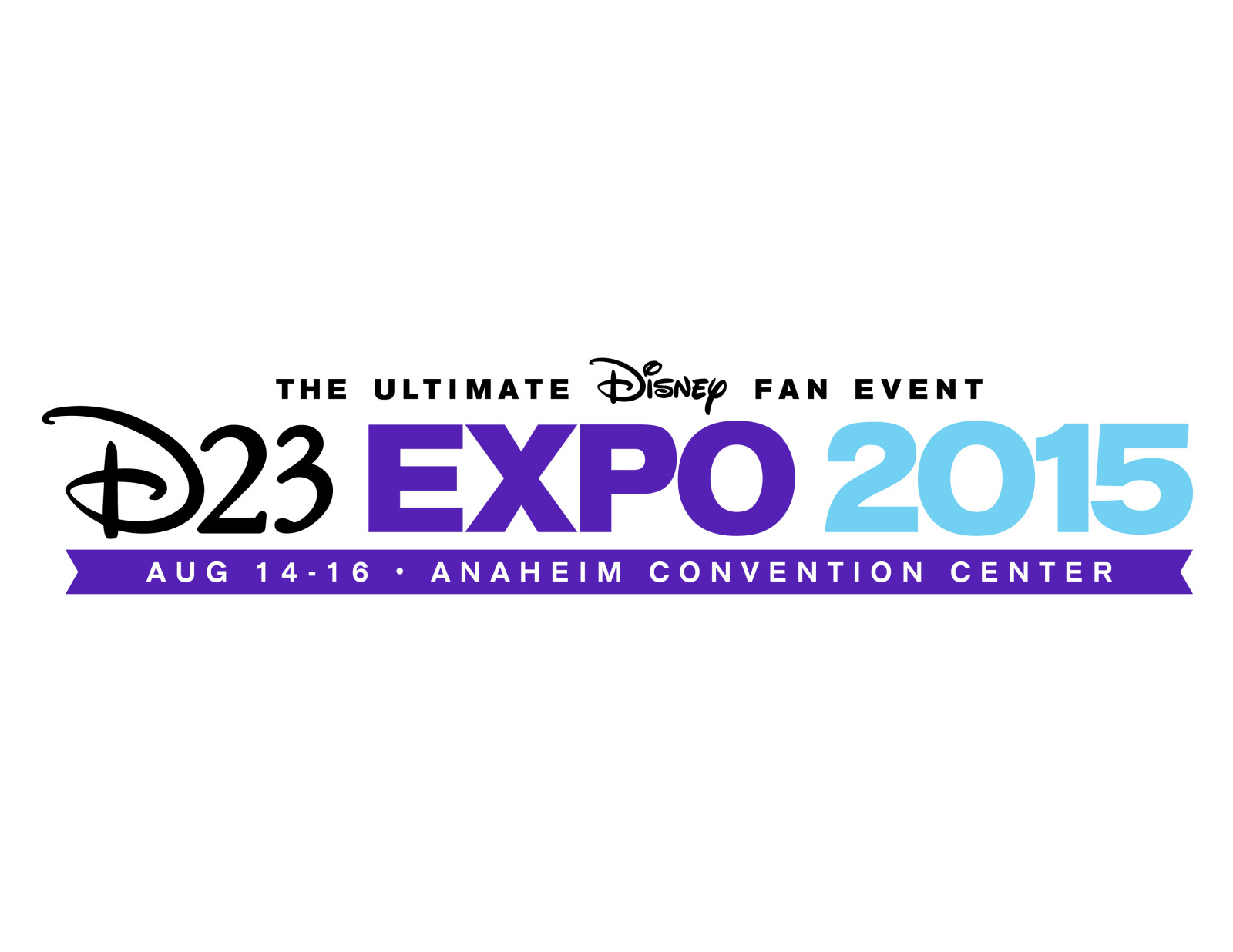 Disney D23 Expo 2015 Logo