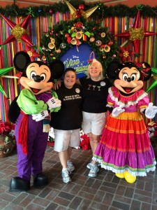 Mariachi Mickey and Minnie