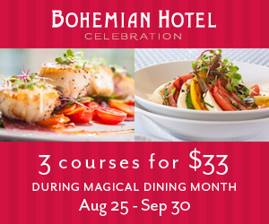 Magical Dining 2014 Bohemian Hotel Celebration