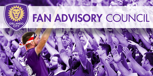 Orlando City SC Fan Advisory Header