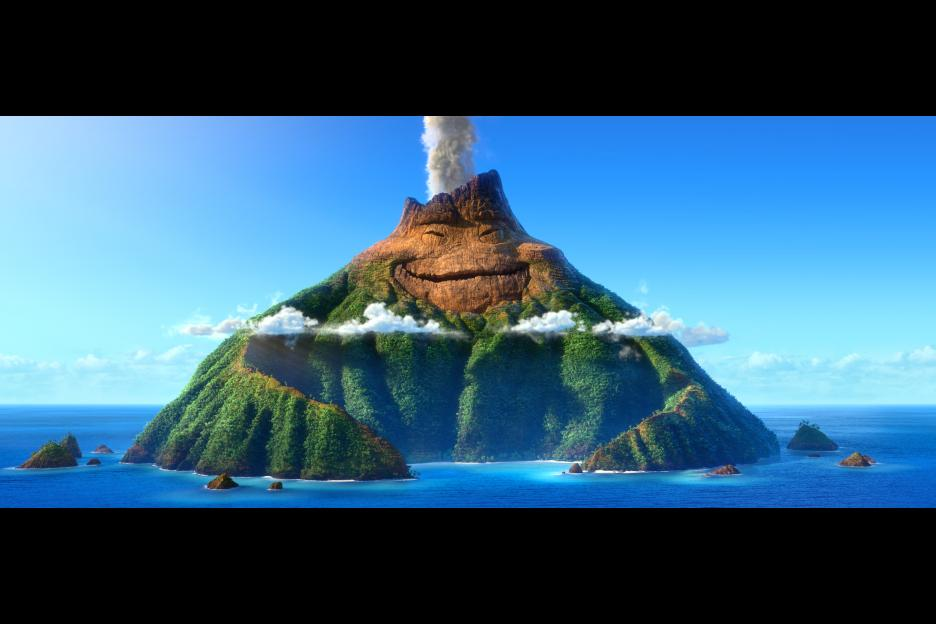 Pixar Lava Inside Out Mountain