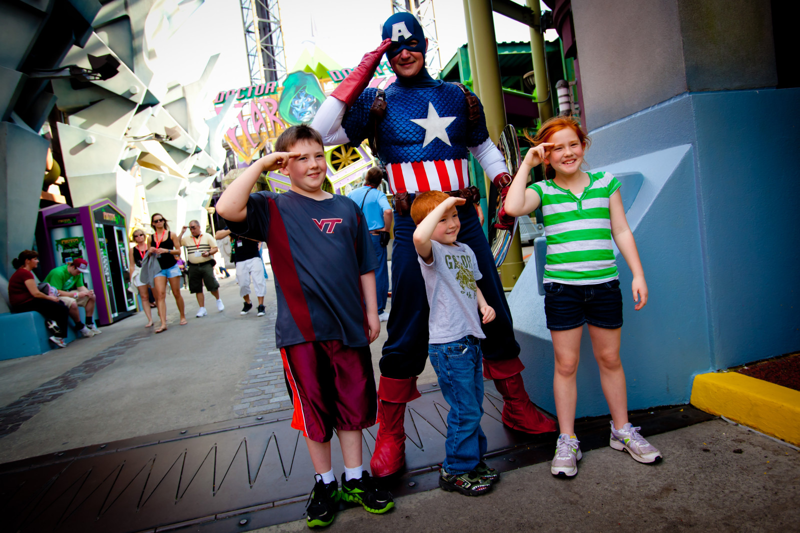 Universal Orlando Resort Military Captain America