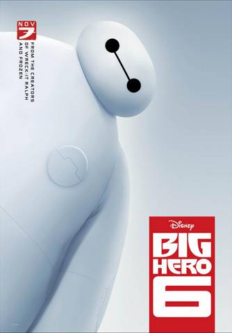 Walt Disney Animation Studios Big Hero 6 Poster