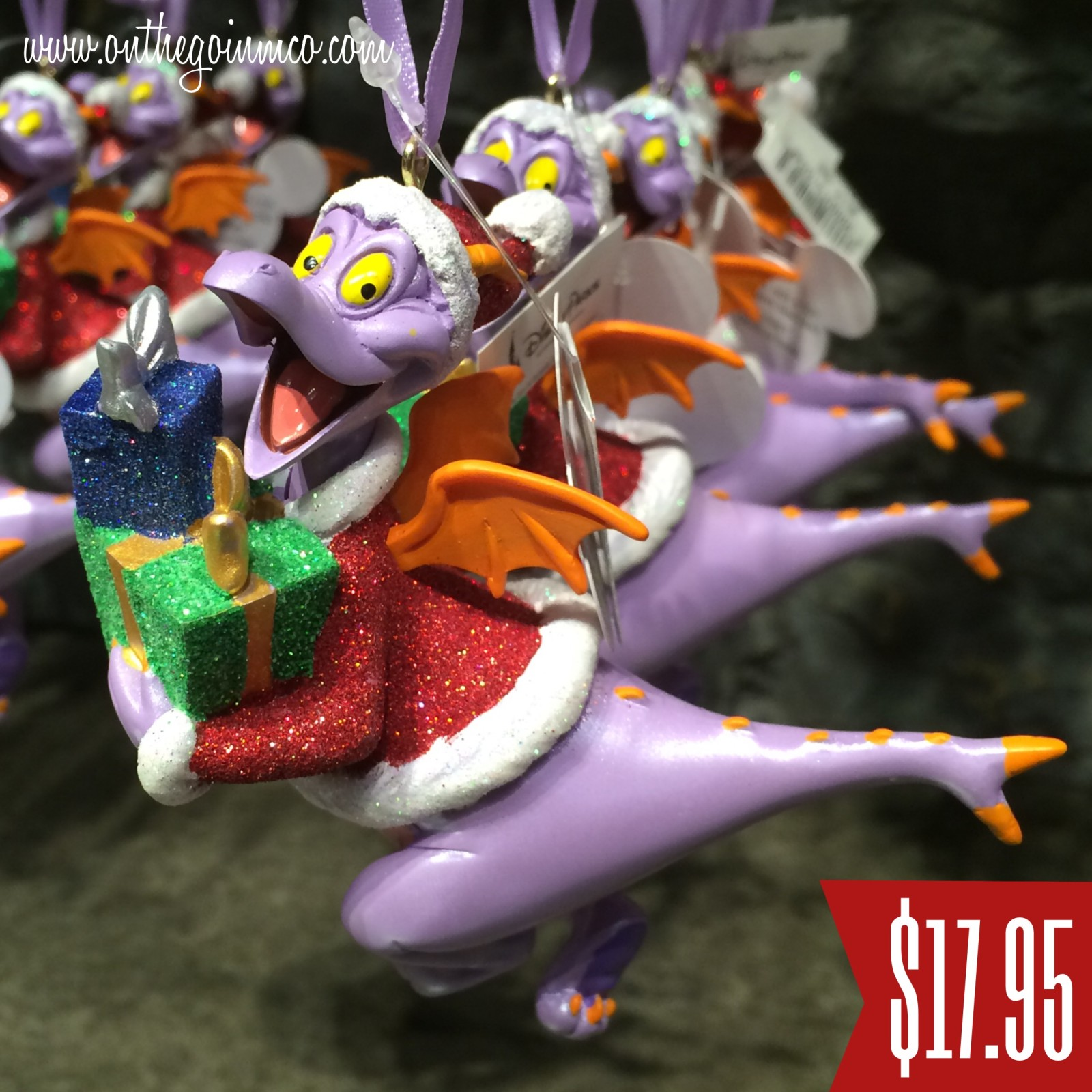 Walt Disney World Christmas Ornaments - Figment