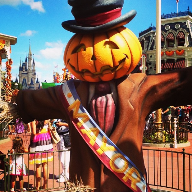 Wordless Wednesday Halloween Mayor Magic Kingdom