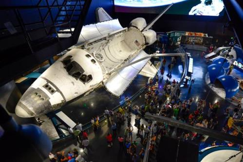 Kennedy Space Center Visitor Complex Celebrates One-Year Anniversary of Space ShuttleAtlantis