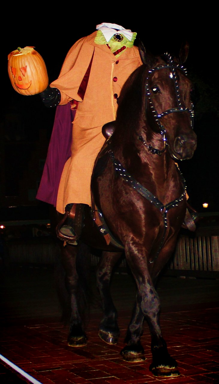 Wordless Wednesday Headless Horseman Mickey's Not So Scary Halloween Party Boo To You