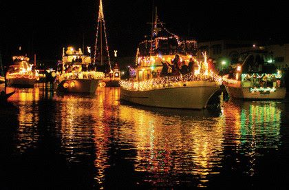 Cocoa Beach Boat Parade Florida's Space Coast Christmas