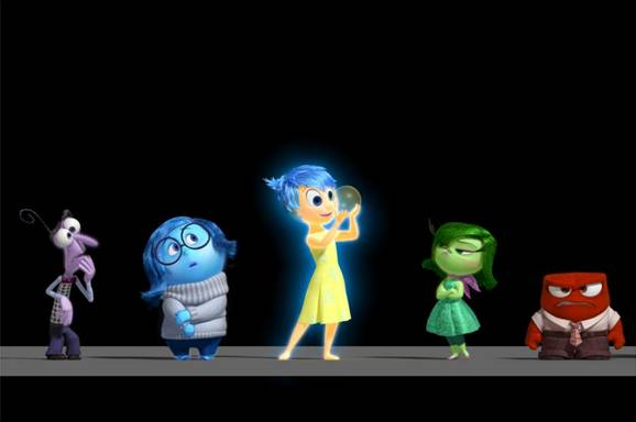 Disney Pixar Inside Out Cast