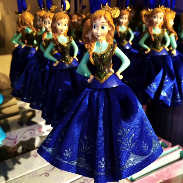 Disney Store Sketchbook Ornaments Anna