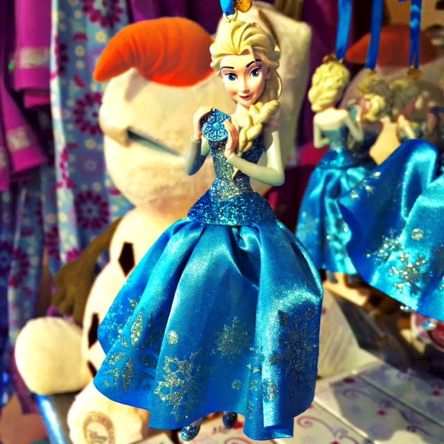 Disney Store Sketchbook Ornaments Elsa