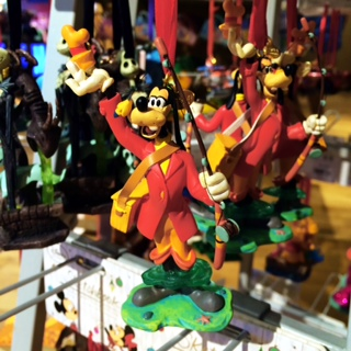 Disney Store Sketchbook Ornaments Goofy Fishing