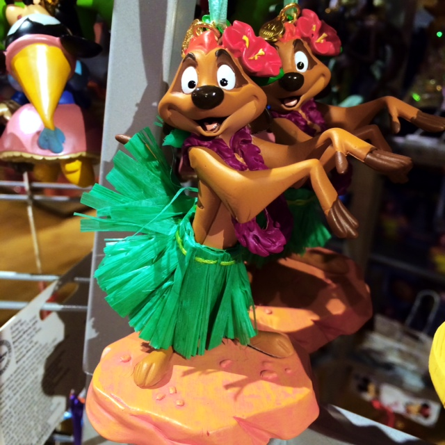 Disney Store Sketchbook Ornaments Hula Timon