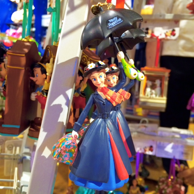 Disney Store Sketchbook Ornaments Mary Poppins