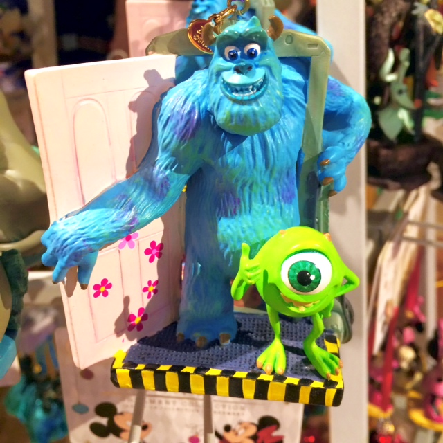 Disney Store Sketchbook Ornaments Mike and Sulley