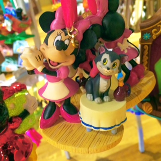 Disney Store Sketchbook Ornaments Minnie and Figaro