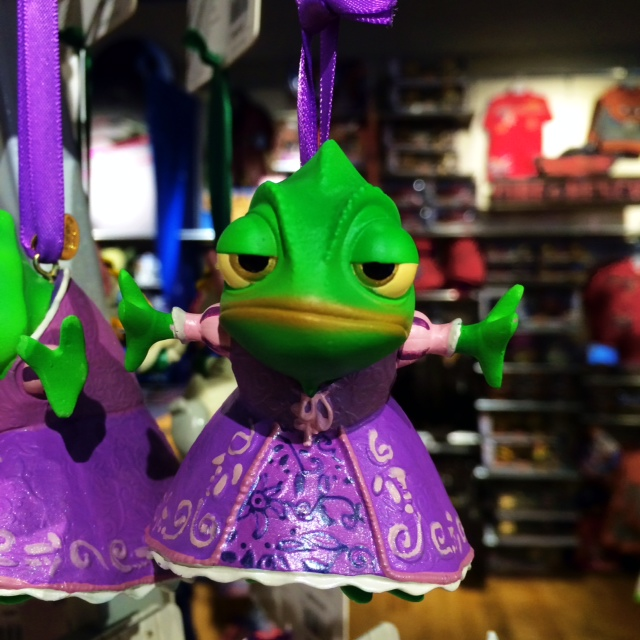Disney Store Sketchbook Ornaments Pascal
