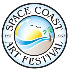 Florida's Space Coast Art Festival Logo